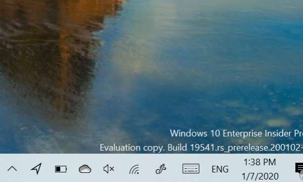 Windows 10 Insider Preview Build 19541