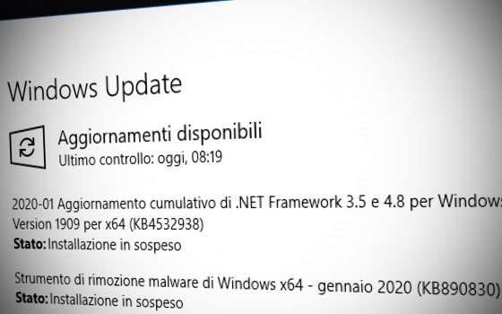 Aggiornare Windows: c'è la patch per CryptoAPI