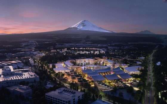 CES 2020: Woven City è la città ideale di Toyota