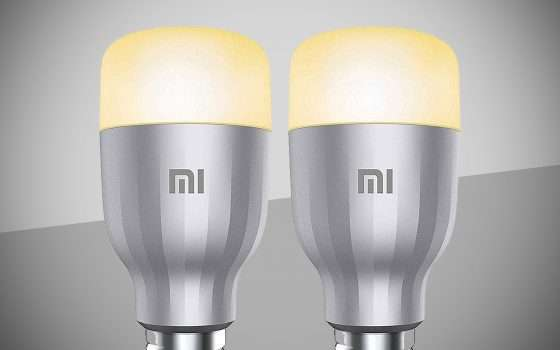Le lampadine smart di Xiaomi in offerta su Amazon