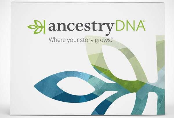 Il box per il test del DNA commercializzato da Ancestry