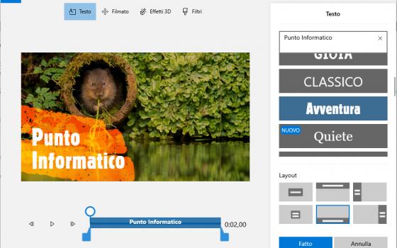 app foto windows: testo