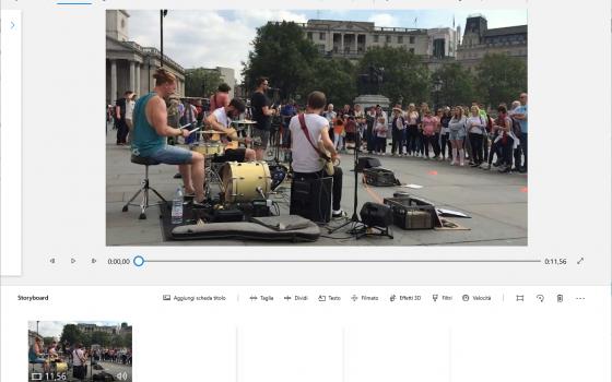 app foto windows: taglia e dividi video