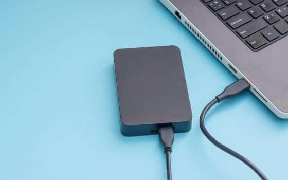 Backup su hard disk