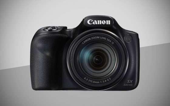 Offerte eBay: Canon PowerShot SX540 HS a 219,99 €