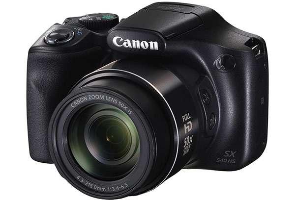 La fotocamera bridge Canon PowerShot SX540 HS