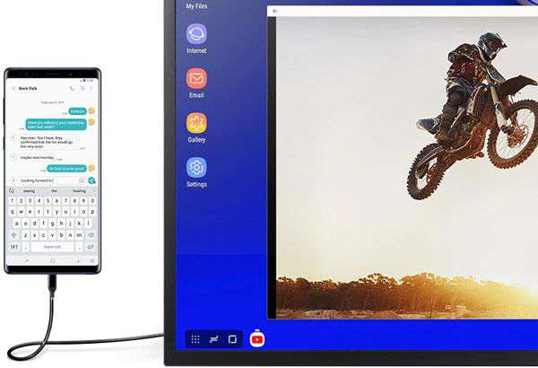 La tecnologia Samsung DeX