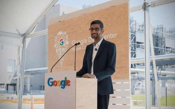 Google: dieci miliardi per l'espansione negli USA