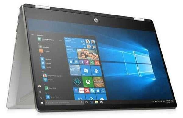 Il laptop HP Pavilion x360 14 con display che ruota e Windows 10