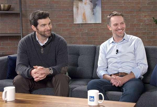 Jeff Weiner e Ryan Roslansky, quest'ultimo sarà il nuovo CEO di LinkedIn