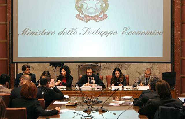 La riunione sul tema coronavirus presso il Ministero dello Sviluppo Economico