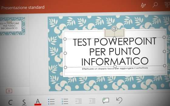 Nuovo Office per Android: ecco PowerPoint