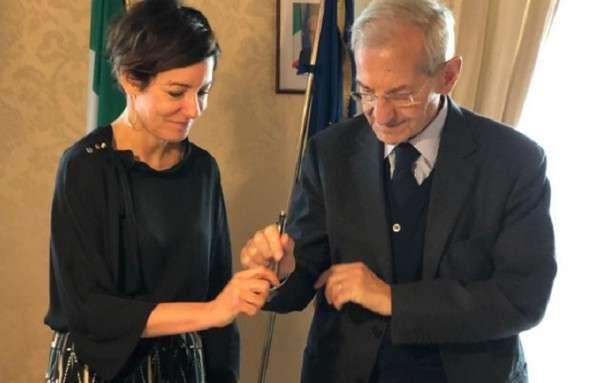 Paola Pisano e Luciano Violante