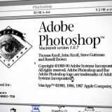 Photoshop compie 30 anni: com'era nel 1990