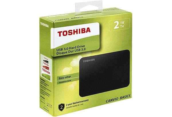 Hard disk Toshiba 2 TB in offerta su eBay