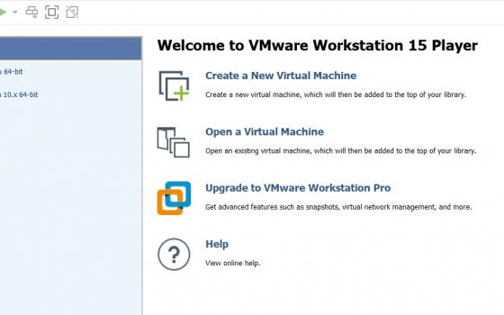 Interfaccia vmware