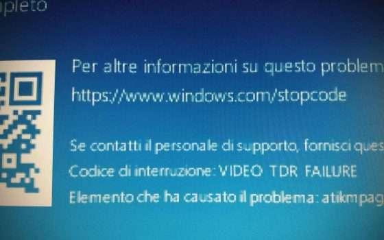Windows 10 KB4549951: BSOD e file cancellati