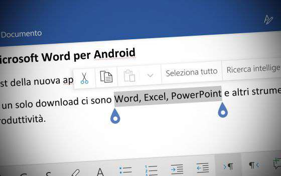 Nuovo Office per Android: uno sguardo a Word