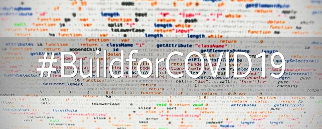 #BuildforCOVID19, hackathon promosso dall'OMS contro il coronavirus