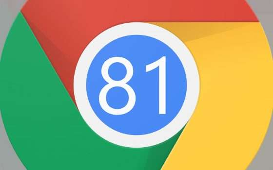 Chrome 81 oggi su Windows, macOS, Linux e Android