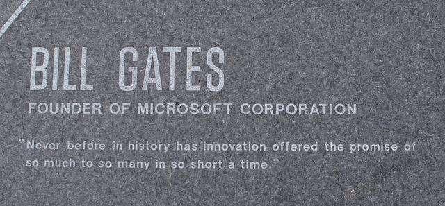 In onore di Bill Gates