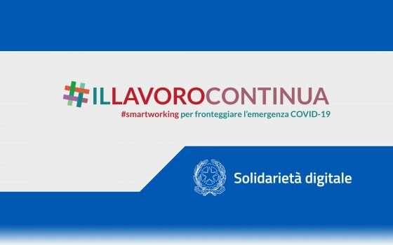 Solidarierà Digitale: webinar #IlLavoroContinua