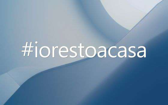 Coronavirus: #iorestoacasa, da hashtag a decreto