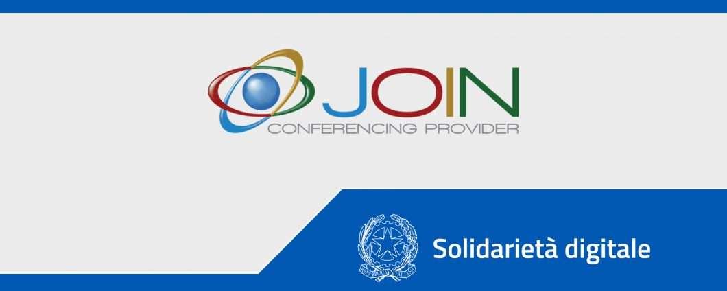 Solidarietà Digitale: le riunioni con Join Conferencing