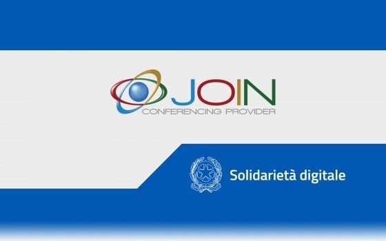 Solidarietà Digitale: meeting con Join Conferencing