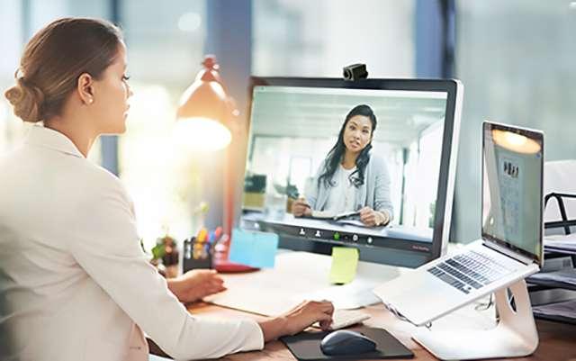 Una videoconferenza su Zoom