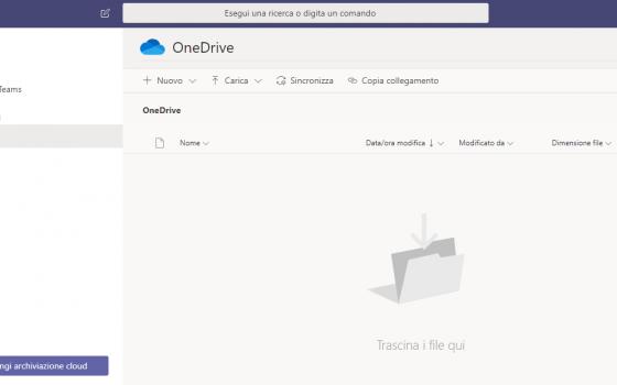 Microsoft Teams: onedrive