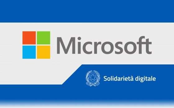 Solidarietà Digitale: la mano tesa di Microsoft