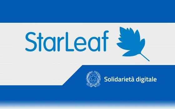 Solidarietà Digitale: videoconferenze con StarLeaf