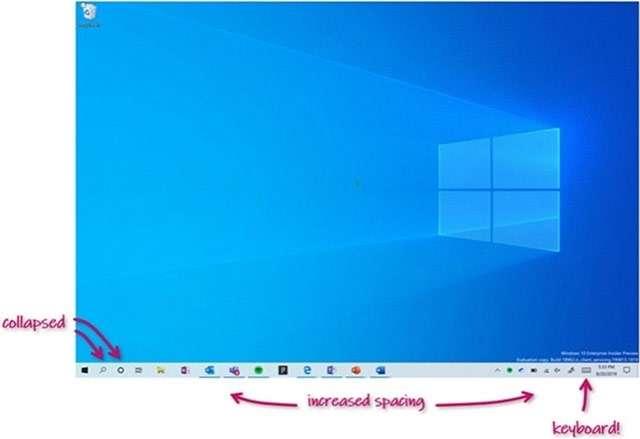 Windows 10 Insider Preview Build 19592: i miglioramenti all'interfaccia per i convertibili 2-in-1