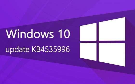 Windows 10 KB4535996, capitolo 3: parla Microsoft