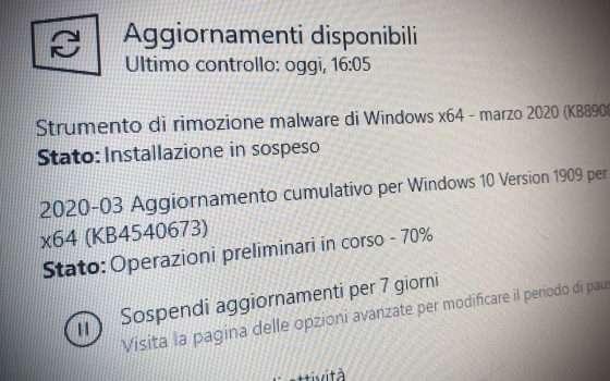 Windows 10: ecco il Patch Tuesday di marzo