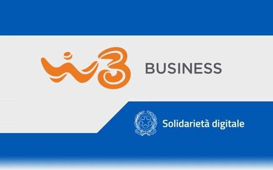 Solidarietà Digitale: un aiuto da WindTre Business