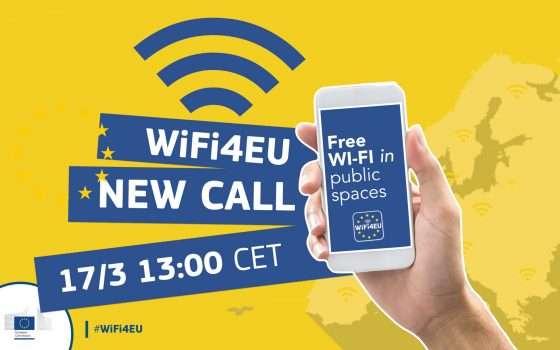 Wifi4EU, call 4: 15 mila euro con un click