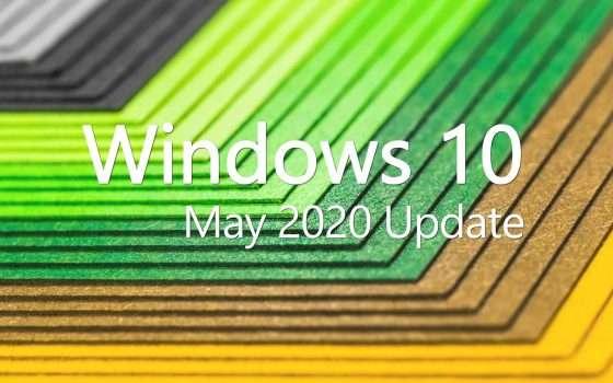 Windows 10 May 2020 Update il 14 o 21 maggio