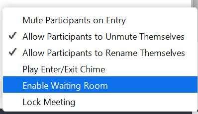 Lock Meeting
