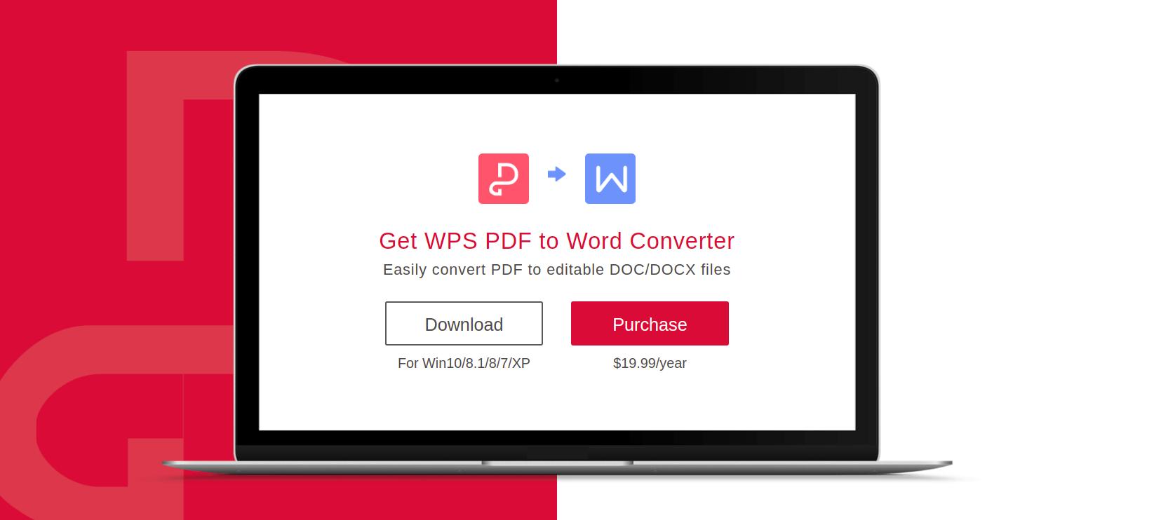 WPS Office PDF ti Word