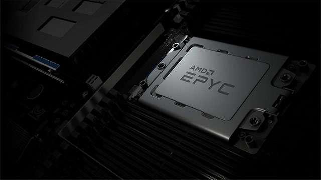Il processore AMD EPYC 7F52