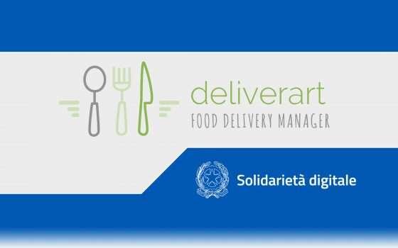 Solidarietà Digitale: Deliverart per food delivery