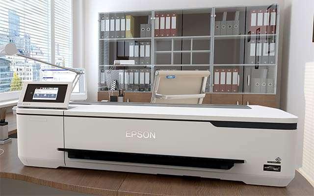 La stampante Epson SureColor SC-T2100 da 24 pollici