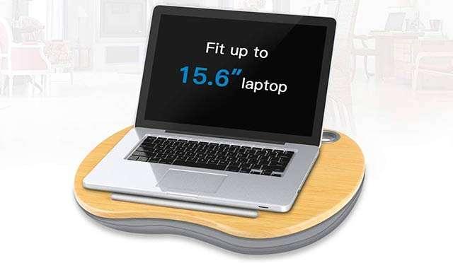 Il supporto per laptop da utilizzare anche sul divano o a letto