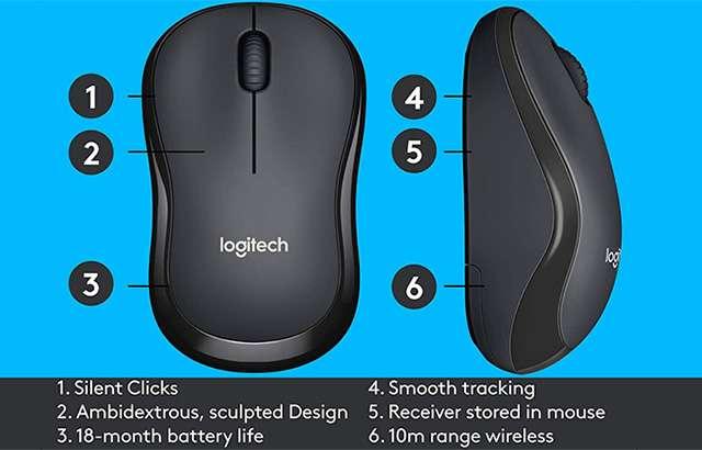 Il mouse Logitech M220