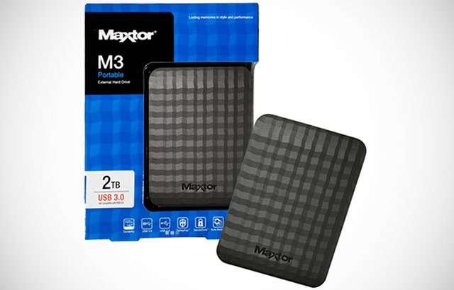 Hard disk esterno Maxtor da 2 TB
