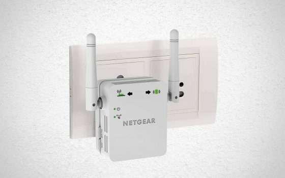 Il ripetitore Netgear WN3000RP a € 19,99 su Amazon