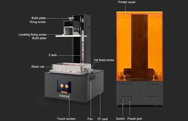 La stampante LONGER Orange10