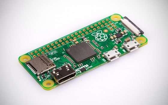 La scheda Raspberry Pi Zero per i respiratori